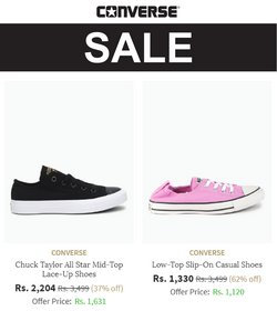 Converse offers in the Converse catalogue ( 12 days left)
