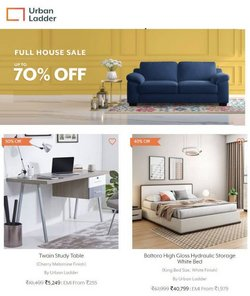 Home & Kitchen offers in the Urban Ladder catalogue ( Expires today)