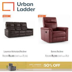 Urban Ladder offers in the Urban Ladder catalogue ( 8 days left)