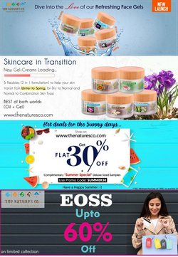 Perfume & Beauty offers in the The Nature's Co. catalogue ( Expires today)