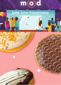 Restaurants offers in the Mad Over Donuts catalogue ( 10 days left)
