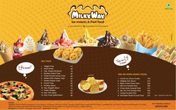 Restaurants offers in the Milky Way catalogue ( 5 days left)