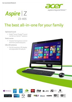 Offers from Acer in the Hyderabad leaflet