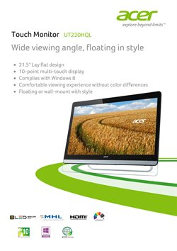 Acer catalogue ( Expired )