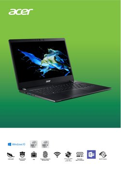 Mobiles & Electronics offers in the Acer catalogue ( 3 days left)