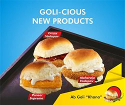 Restaurants offers in the Goli Vada Pav catalogue ( More than a month)