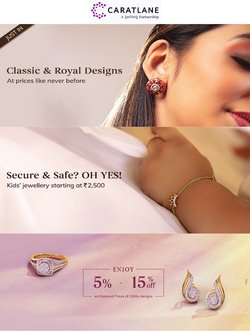 Jewellery offers in the Carat Lane catalogue ( 3 days left)