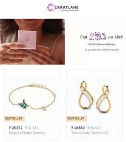 Jewellery offers in the Carat Lane catalogue ( 9 days left)