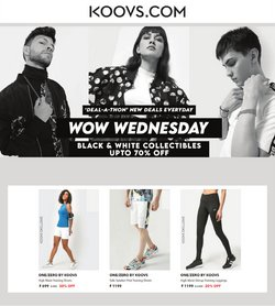 Koovs offers in the Koovs catalogue ( 9 days left)