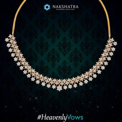 Necklace offers in the Nakshatra catalogue in Delhi