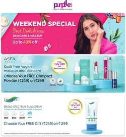 Perfume & Beauty offers in the Purplle catalogue ( 6 days left)