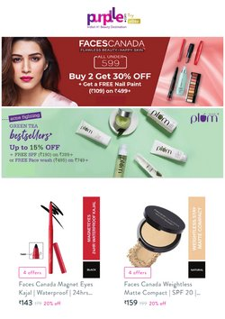 Perfume & Beauty offers in the Purplle catalogue ( Expires today)