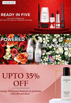 Perfume & Beauty offers in the Colorbar catalogue ( 8 days left)