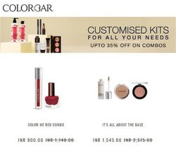 Perfume & Beauty offers in the Colorbar catalogue ( Expires today)