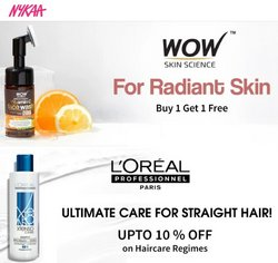 Perfume & Beauty offers in the Nykaa catalogue in Delhi ( 25 days left )