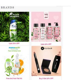 Offers of Sugar in Nykaa