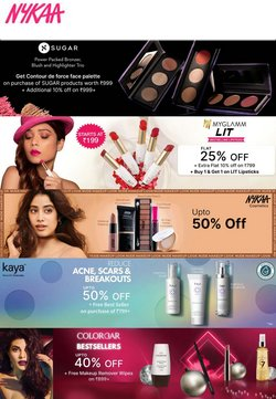 Perfume & Beauty offers in the Nykaa catalogue ( 5 days left)