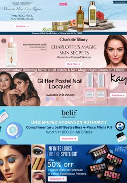 Perfume & Beauty offers in the Nykaa catalogue ( Published today)