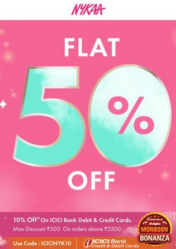 Perfume & Beauty offers in the Nykaa catalogue ( 11 days left)