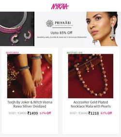Perfume & Beauty offers in the Nykaa catalogue ( 8 days left)