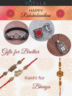 Jewellery offers in the Voylla catalogue ( 11 days left)