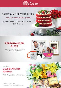 Offers of Flowers in Indian Gifts Portal