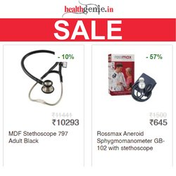 Healthgenie offers in the Healthgenie catalogue ( Published today)