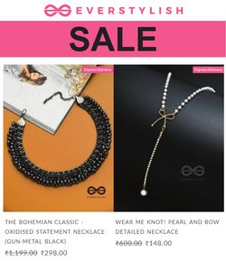 Ever Stylish offers in the Ever Stylish catalogue ( 2 days left)
