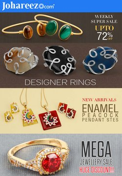 Jewellery offers in the Johareez catalogue ( Expires today)