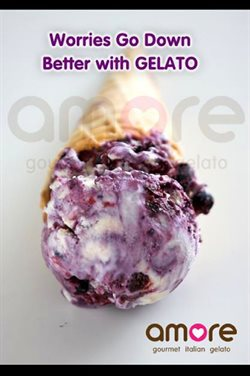 Offers from Amore Gelatos in the Mumbai leaflet