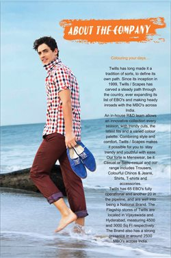 Trousers offers in the Twills catalogue in Delhi