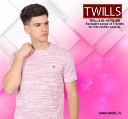 Offers from Twills in the Hyderabad leaflet