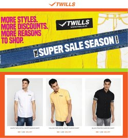 Twills offers in the Twills catalogue ( 5 days left)