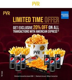 Books & Cinema offers in the PVR Cinemas catalogue ( 20 days left)