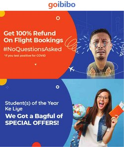 Travel offers in the Goibibo catalogue ( 11 days left)