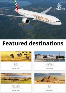 Travel offers in the Emirates catalogue ( 3 days left)