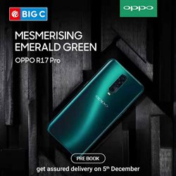 Offers from Big C Mobiles in the Delhi leaflet