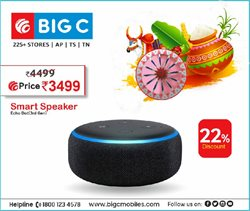 Mobiles & Electronics offers in the Big C Mobiles catalogue in Hyderabad