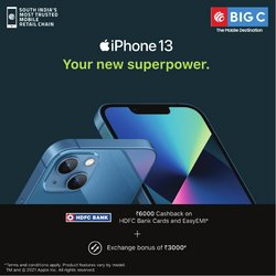 Big C Mobiles offers in the Big C Mobiles catalogue ( Expired)