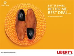 Shoes offers in the Liberty Shoes catalogue in Surat