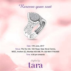 Offers from Tara Jewellers in the Mumbai leaflet