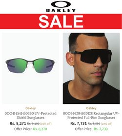 Perfume & Beauty offers in the Oakley catalogue ( More than a month)