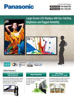 Mobiles & Electronics offers in the Panasonic catalogue in Jamshedpur