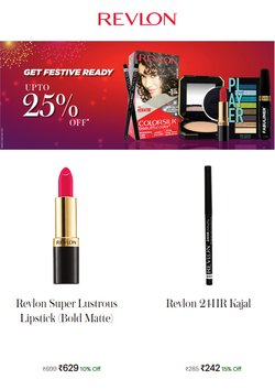Perfume & Beauty offers in the Revlon catalogue ( 10 days left)
