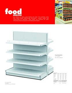 Shelving offers in the Featherlite Living catalogue in Loni