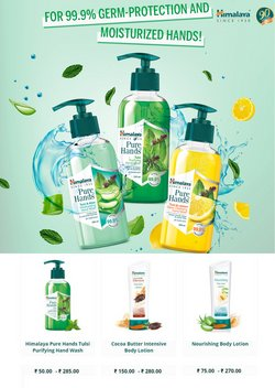 Perfume & Beauty offers in the Himalaya Herbals catalogue ( Published today)
