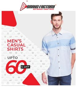 Brand Factory offers in the Brand Factory catalogue ( 8 days left)