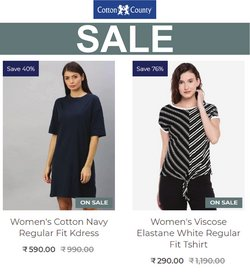 Clothes, shoes & accessories offers in the Cotton County catalogue ( 7 days left)