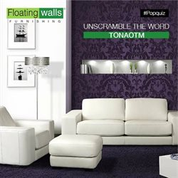 Offers from Floating Walls in the Bangalore leaflet