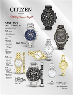 Offers from Kay Jewelers in the Margao leaflet
